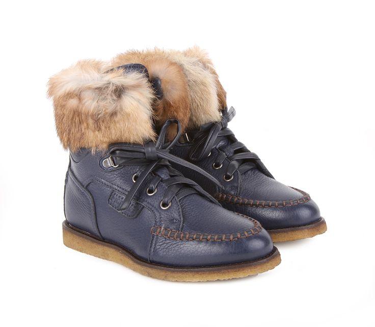 Купить ботинки женские зимние Timberland Blue Winter