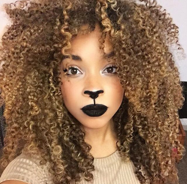 Curly Hair Costume Ideas : Best ideas about dyed curly hair on natural