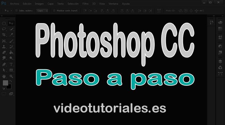 Aprende con este video tutorial online de Photoshop CC GRATIS como puedes usar TODAS las herramientas de Photoshop CC en español