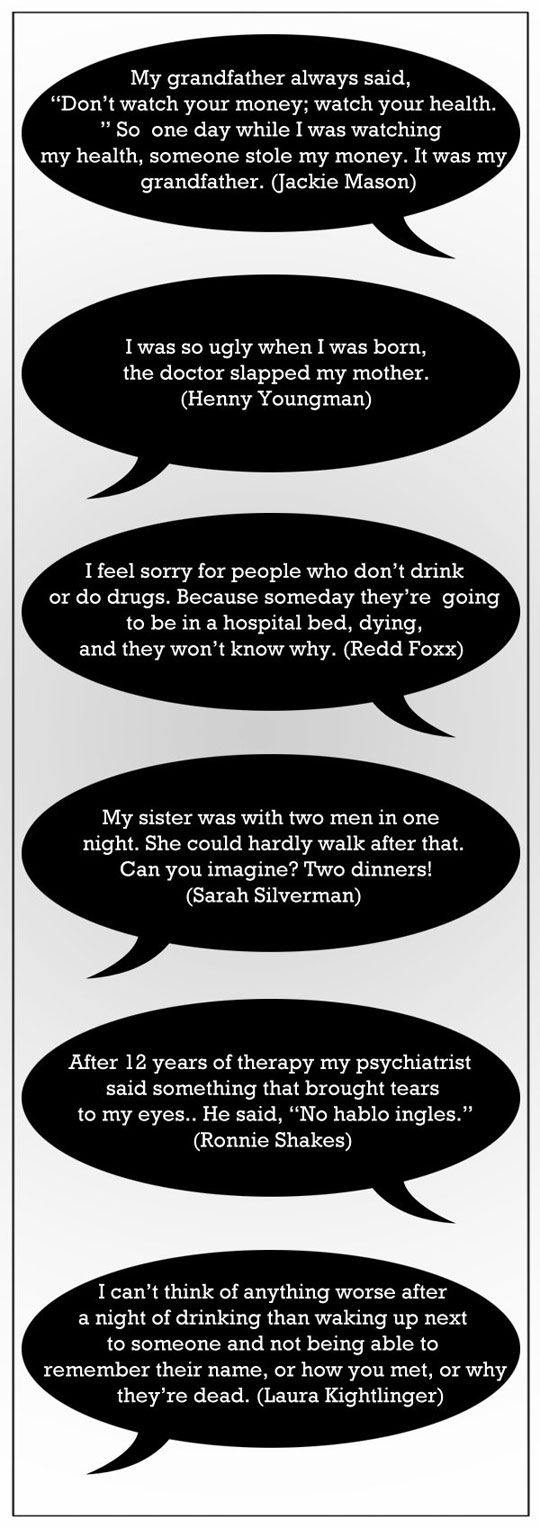 Brilliant quotes from famous comedians