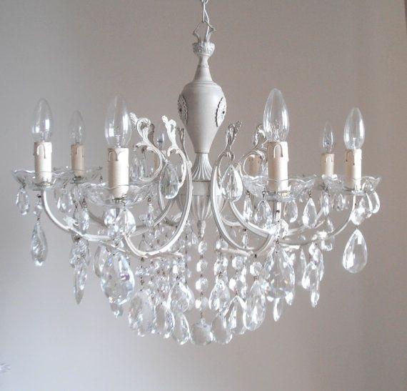 Oltre 10 fantastiche idee su lampadario shabby chic su for Lampadario vintage