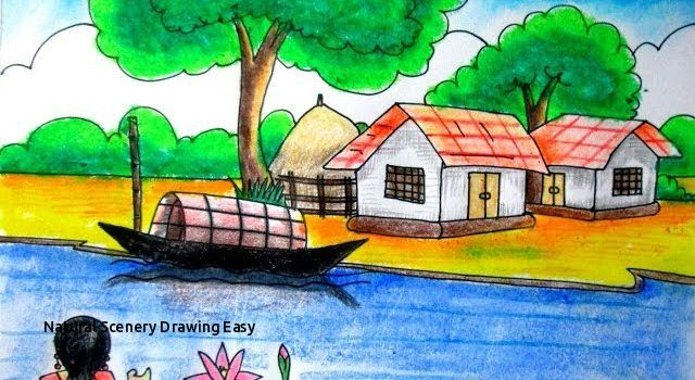 Natural Scenery Drawing Easy Natural Scenery Drawing At Getdrawings Nature Art Drawings Nature Drawing Easy Nature Drawings