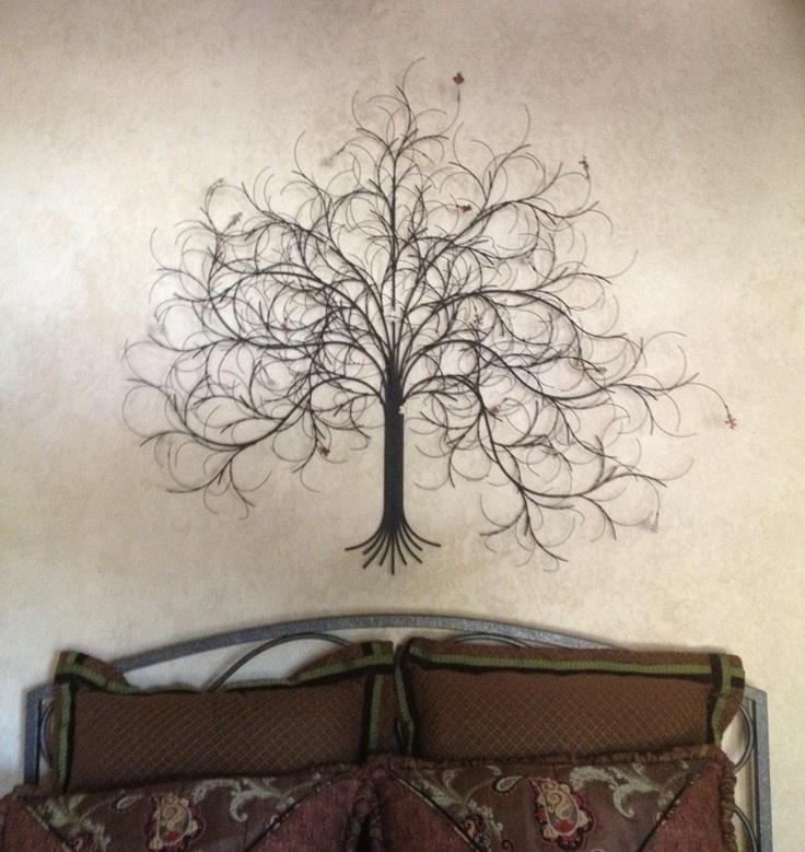 Black Tree Wall Decor : Metal wall art trees san francisco california march