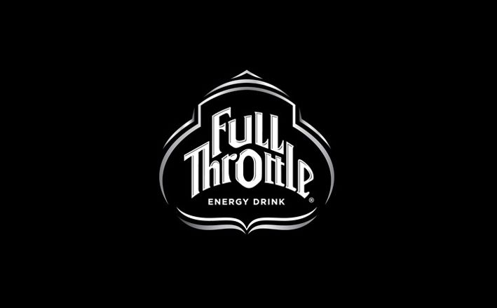 full throttle energy drink logo design