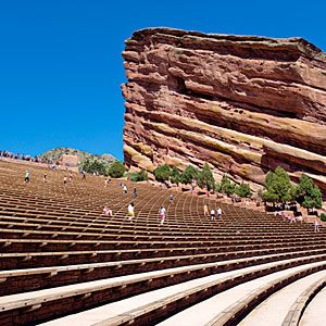 Red Rocks Park and Amphitheatre, Morrison