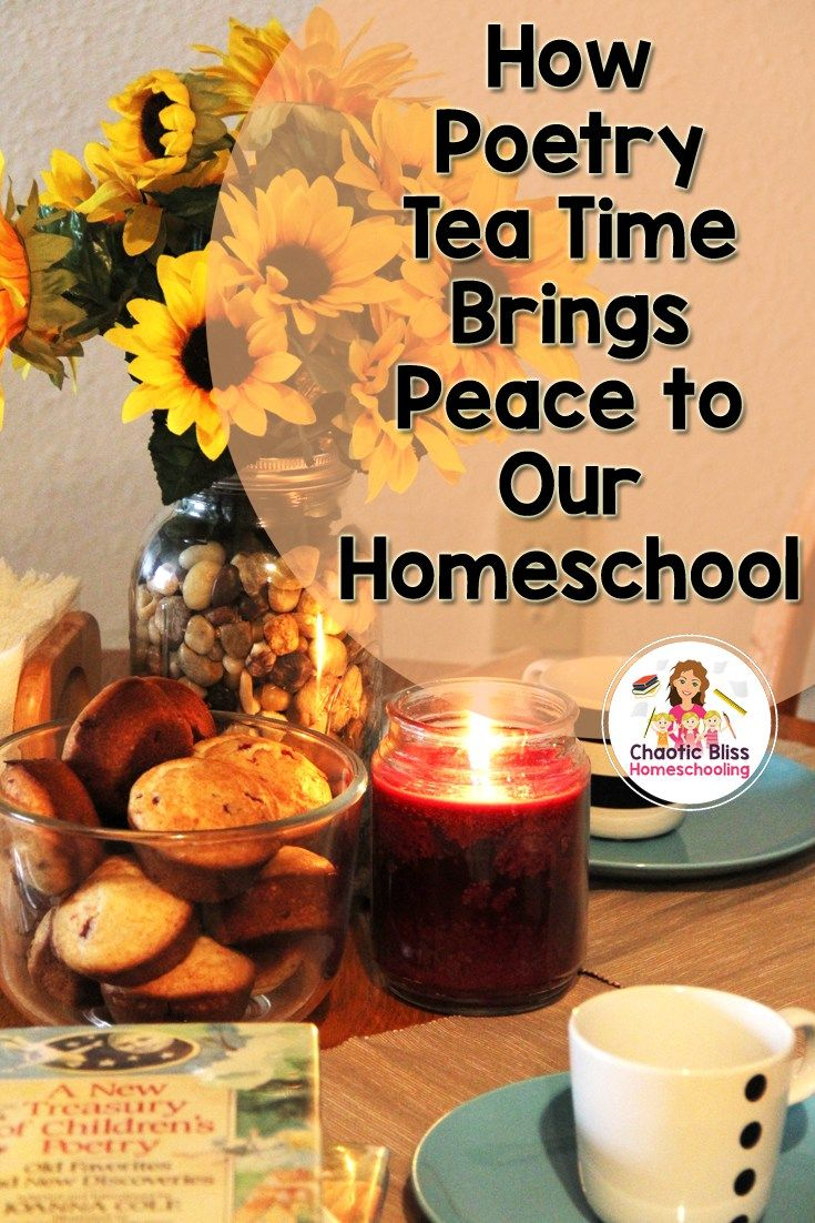 """Often times children develop a sense of anxiety when it comes to poetry, simply because they find it difficult to understand. With Poetry Tea Time your kids are gently introduced to the concept of poetry, where all they have to do is simply enjoy the readings."" ~Jeanetta"