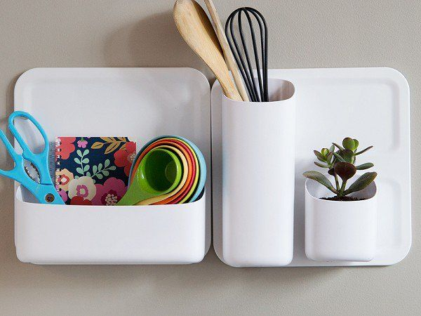 Magnetic wall organizers!