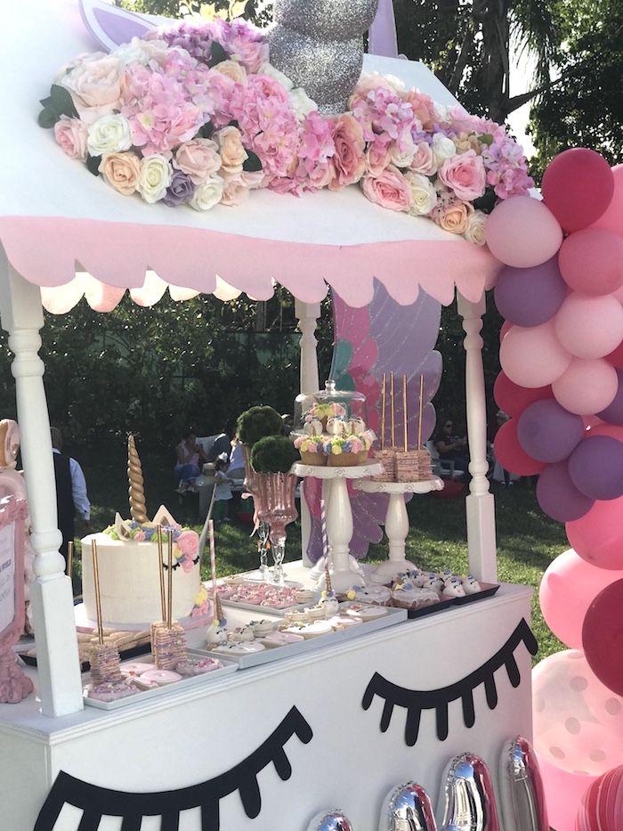Unicorn Candy Table Ideas : unicorn, candy, table, ideas, Unicorn, Birthday, Party, Kara's, Ideas, Themed, Party,, Theme, Decorations