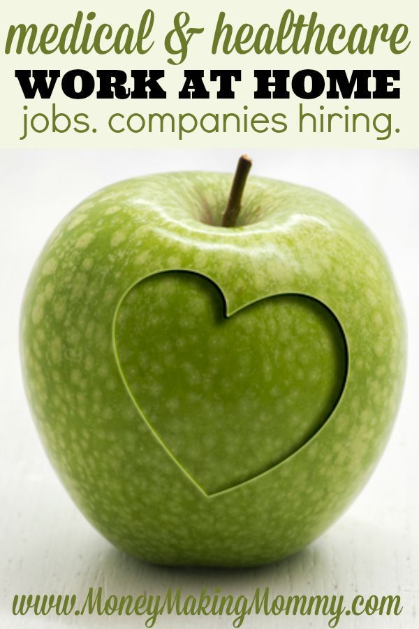 Medical care and the healthcare industry as a whole continues to grow rapidly. This, along with the internet allow many to work right from home doing work like transcription, follow ups calls and even nursing. Find out more. List of companies that hire. MoneyMakingMommy.com