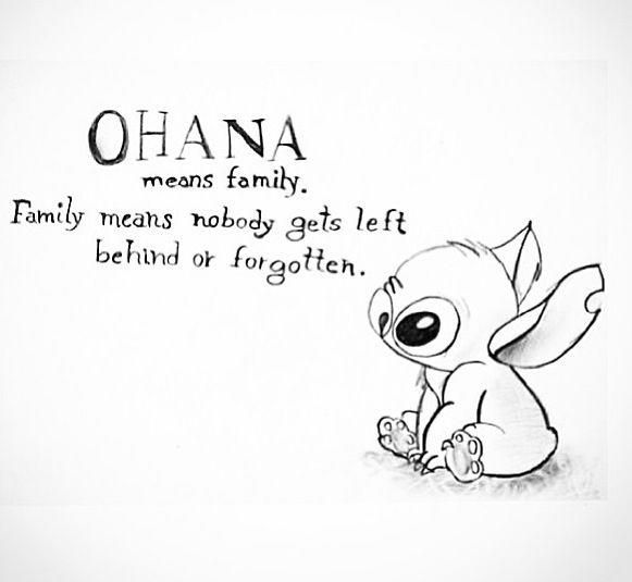 Happy Stitch Coloring Pages Ohana 1 Lilo And Stitch Quotes