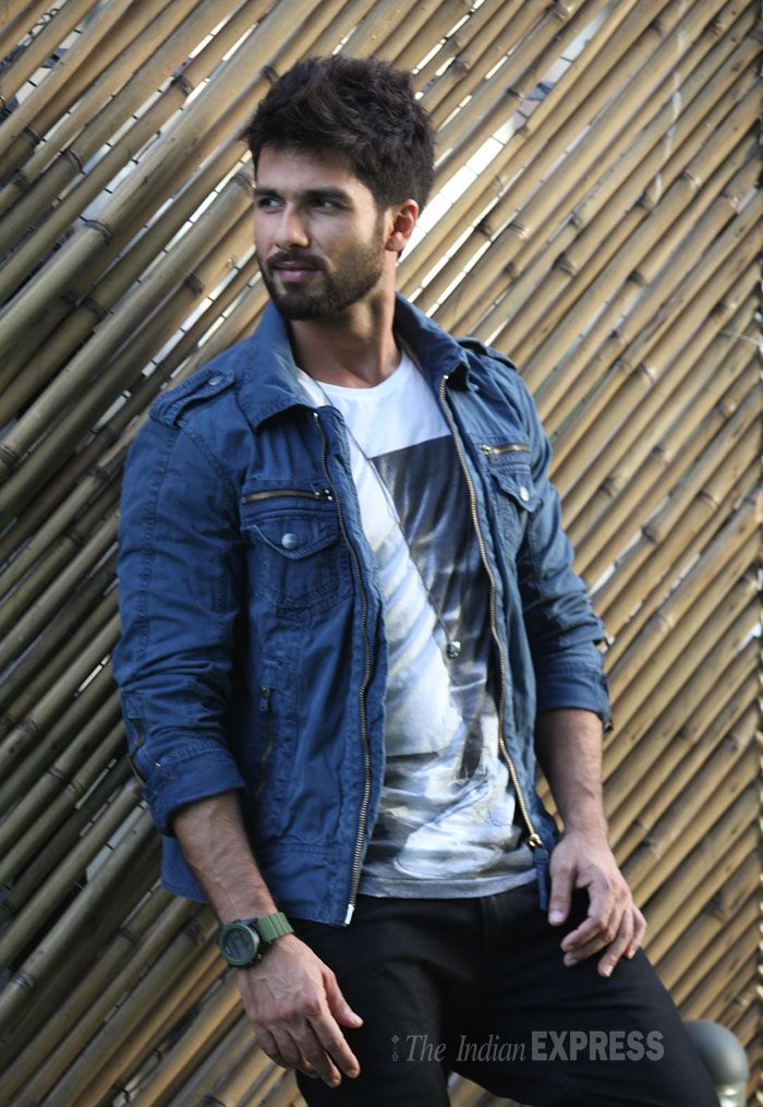 Shahid Kapoor in a photoshoot for Screen. #Style #Bollywood #Fashion #Handsome