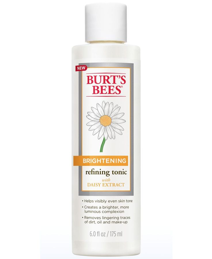 Burt's Bees Brightening Refining Tonic, 6 oz: use it with Burt's Bees Brightening Facial Cleanser