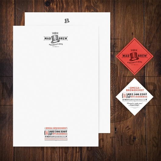 Letterhead/Business Card