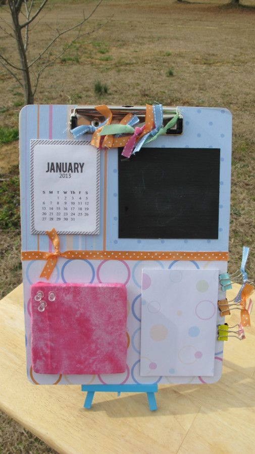 Altered Clipboard- Baby Blue $12
