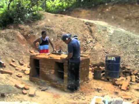 Maisuta Minute Mani kiln:  Potters for Peace show how to build a wood fired pottery kiln in Nicaragua -- in one minute video. This kiln will be used to fire ceramic water filters to purify water in rural areas of Nicaragua.