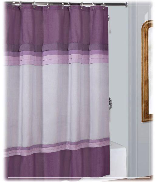 9 best decor images on Pinterest | Purple shower curtains, Bath ...