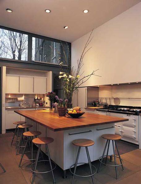 isla de cocina moderna william garvey