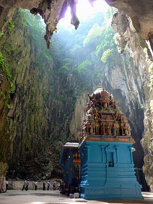 Batu Caves, Malaysia, JUST BREATHTAKING- exactly what I expect Malaysia to be like!  (previous pinner described it as a privilege to visit this place).  #MalaysiaAus  #AirAsia