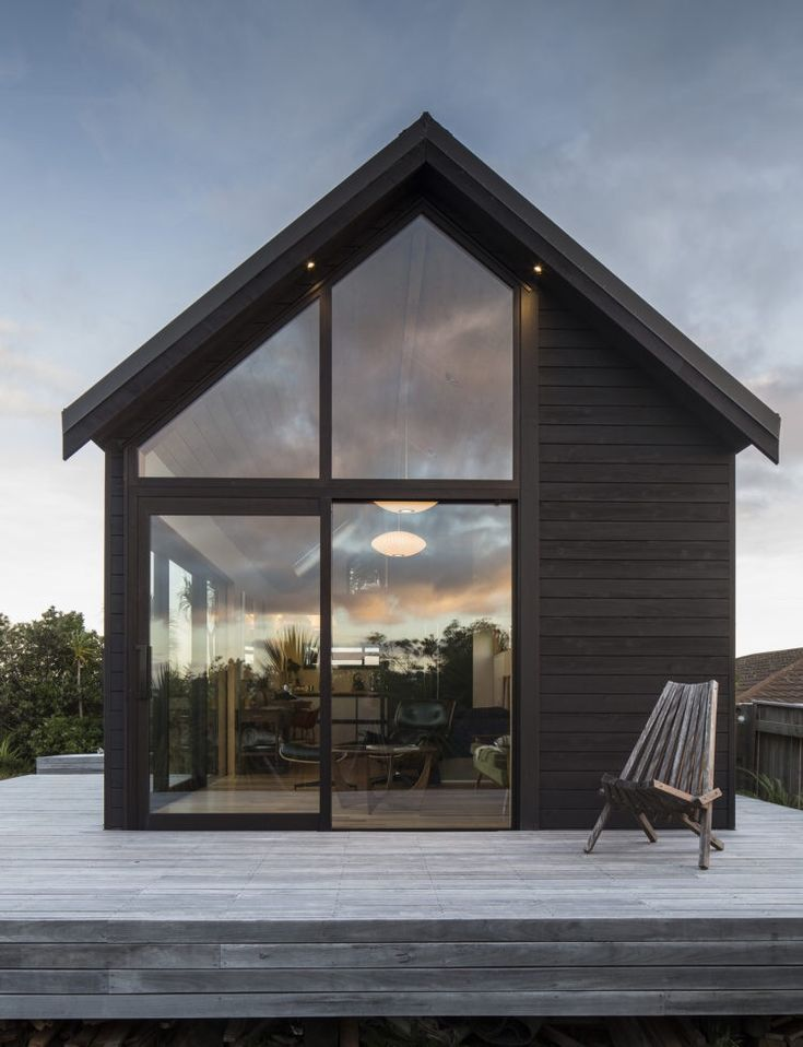 The 45m2 thurston studio wellington new zealand by - Architect designed modular homes nz ...