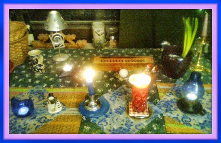 My imbolc Table Card
