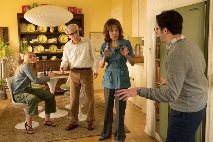 Crisis In Six Scenes: First Images Features Woody Allen, Miley Cyrus, Elaine May - The Woody Allen Pages