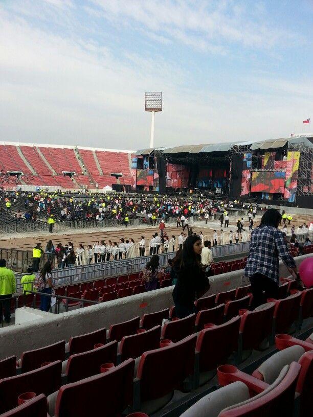 Fotos tomadas dede pacifico golden.,estadio nacional chile