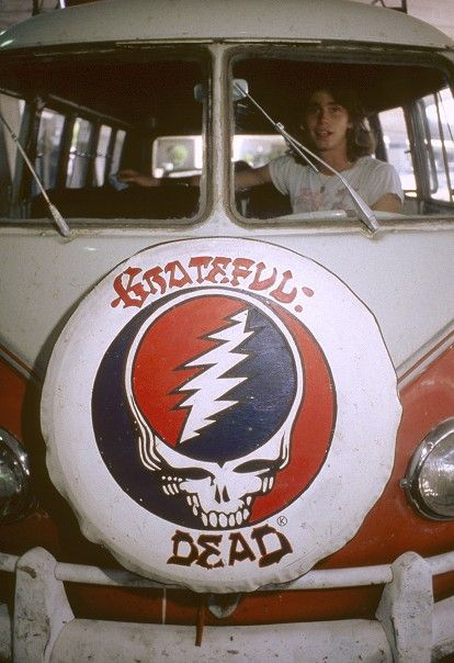 Grateful Dead VW hippie van ☮ ☮❥Hippie Style❥☮☮