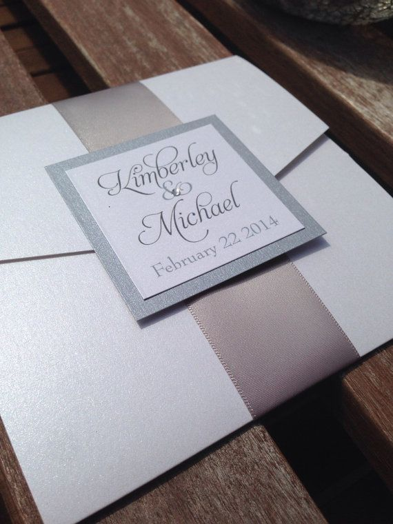 invitations rsvps invitations de mariage pocketfold invitations de mariage glitter invitation suite ides dinvitation papeterie de mariage - Ide Chanson Personnalise Mariage