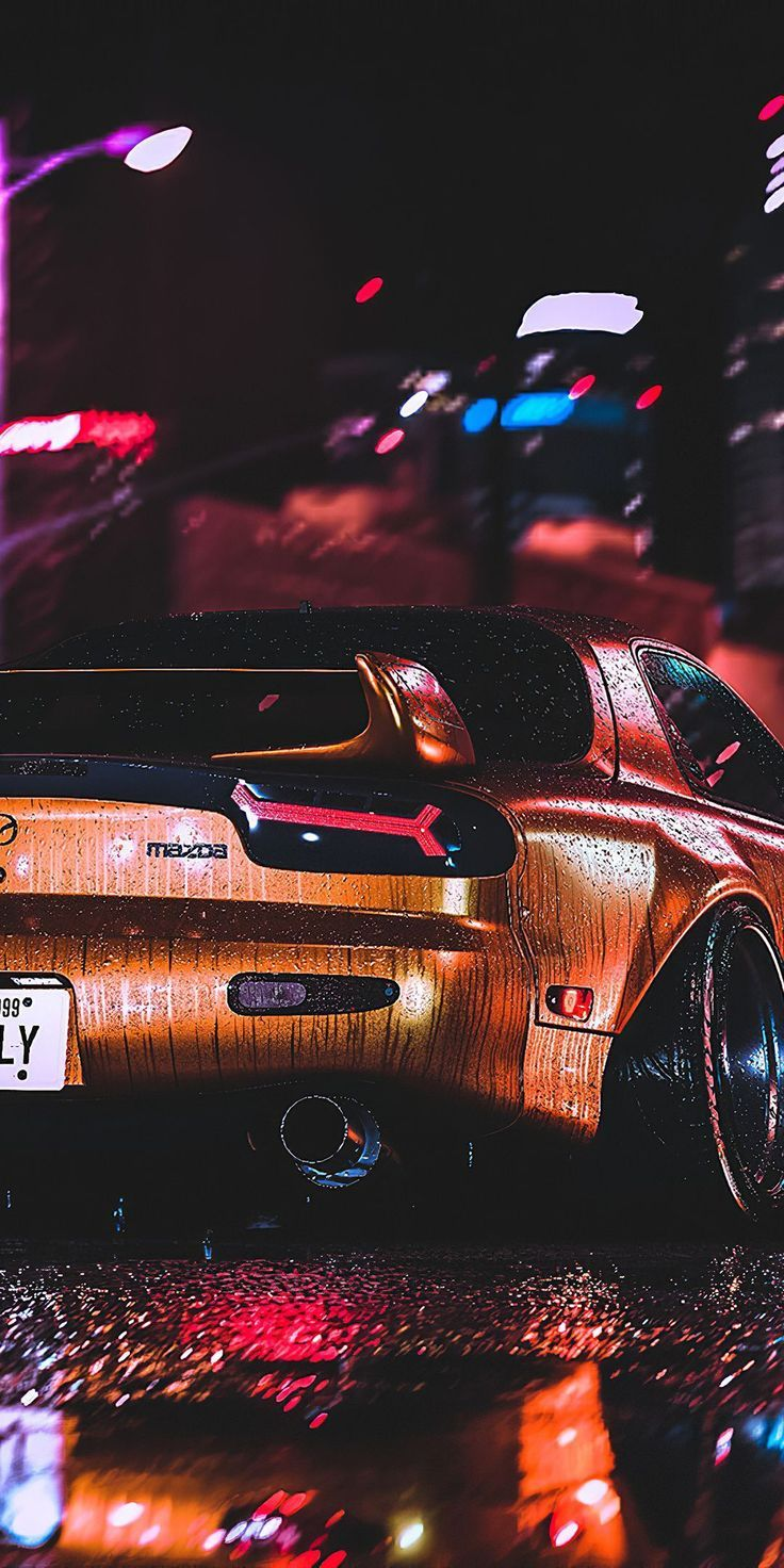 1080x2160 Mazda RX7, achteraanzicht, in 2020   Jdm ...