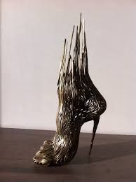 sculpture moderne abstraite