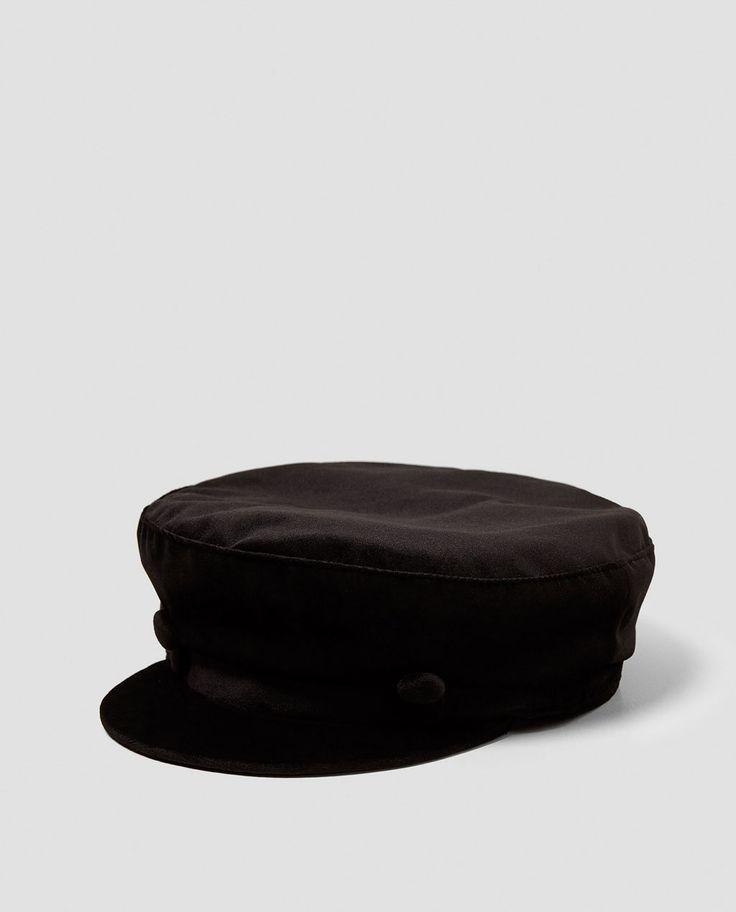 ZARA - WOMAN - VELVET NAUTICAL CAP