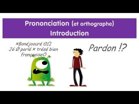 La pronunciación 1.