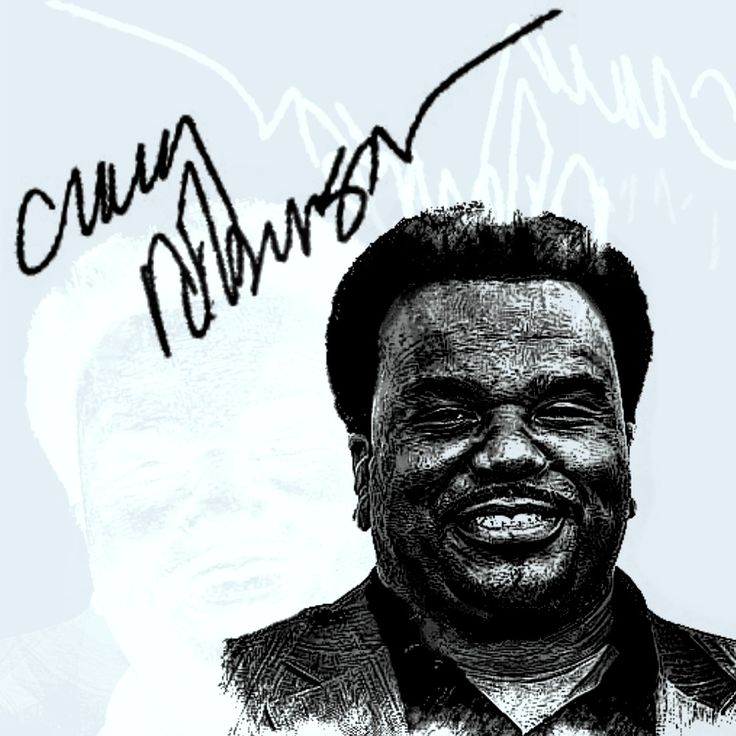 Craig Robinson is an American actor, stand-up comedian, and singer.