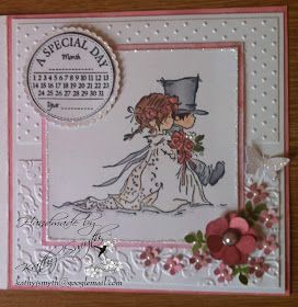 Stories of a mischievous Doberman and some crafty creations : LOTV wedding card and a very mischievous Maggie