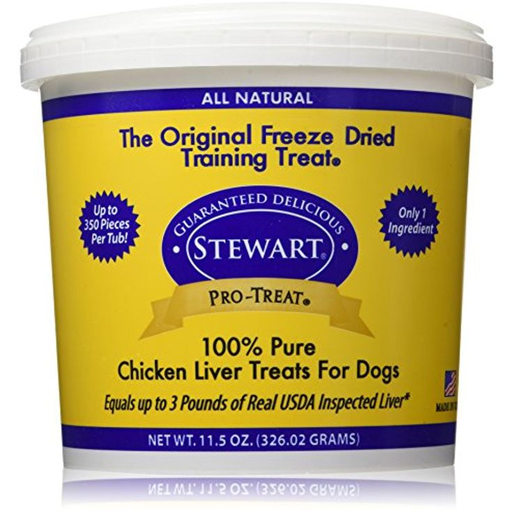 Stewart Freeze Dried Chicken Liver Treats, 11.5 Ounce @ You can click on the image for additional details. (This is an affiliate link and I receive a commission for the sales)