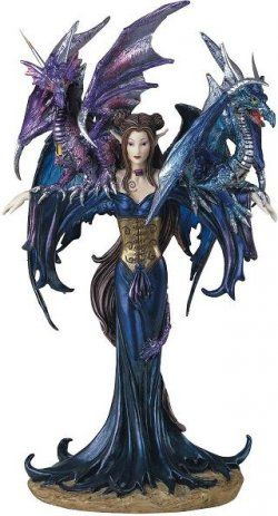 Dragon And Fairy Figurines | Dragon and Fairy Figurines. Have her and she is gorgeous!