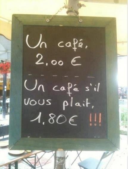 :) education!: You Plaits, French Education, Sil You, Menu Boards, French Lessons, French Cafe, Good Manners, Wall Photos, Bar Signs