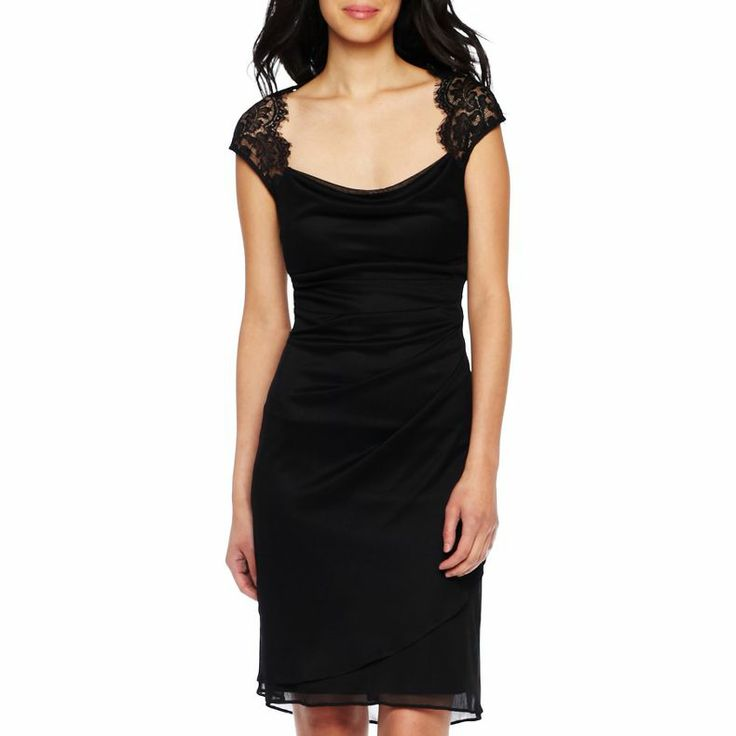 Jcpenney - Shirred Lace Dress - Jcpenney