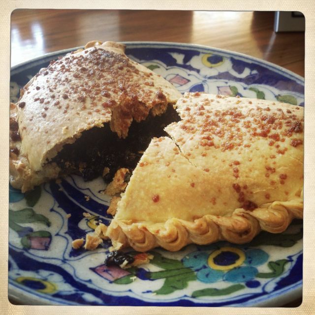 Such a retro recipe - Currant Mint Pastries