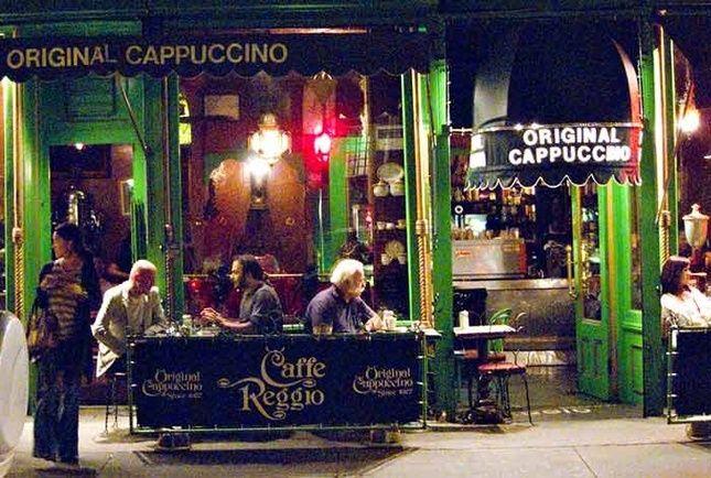 Cafe Reggio, Greenwich Village The world's most historic coffee houses - Espresso Coffee - Quora