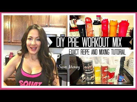 Mix Your Own DIY Pre Workout Drink Recipe: Measurements and Tutorial - http://www.bestrecipetube.com/mix-your-own-diy-pre-workout-drink-recipe-measurements-and-tutorial/