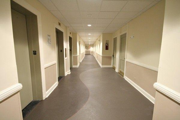 How to interior design a condominium building hallways for Interior designs for hallways