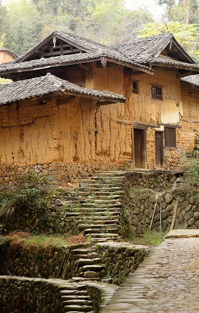 Fujian tulou-special architecture of china  by cozyta, via Flickr