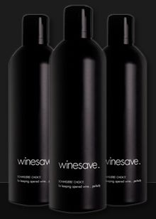 winesave - Wine Preservation | Argon Gas for Preserving Opened Bottles of Wine and Keeping them Fresh Longer | Wine Oxidation Prevention
