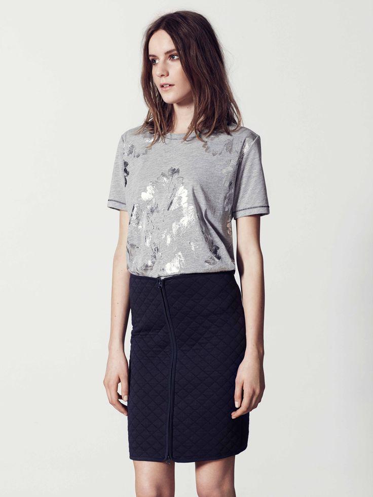 BZR Biola Skirt by Bruuns Bazaar   La Luce http://shoplaluce.com/collections/bzr-by-bruuns-bazaar/products/bzr-biola-skirt