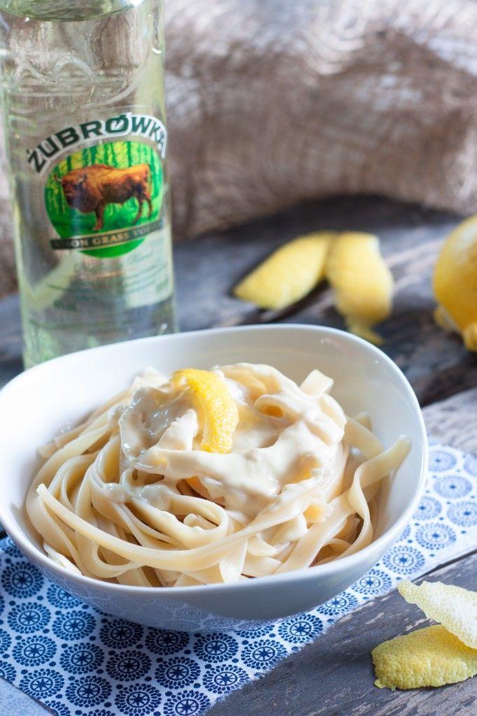 Tagliatelles citron / vodka