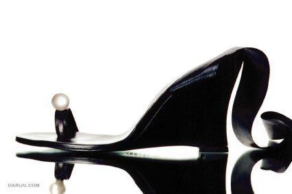 Judari magic pearl sandals