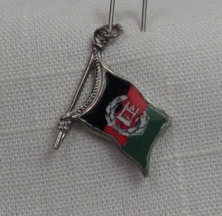 Afghanistan Flag Charm