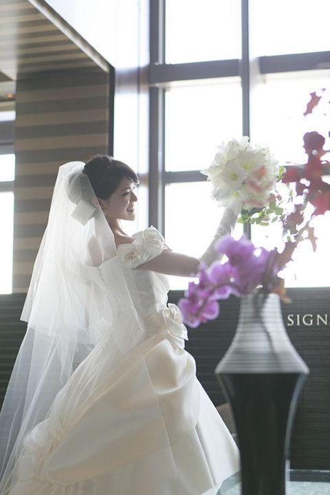 エマリーエ・ドレス♡美しき花嫁さんからのメールとお写真がうれしくって♡