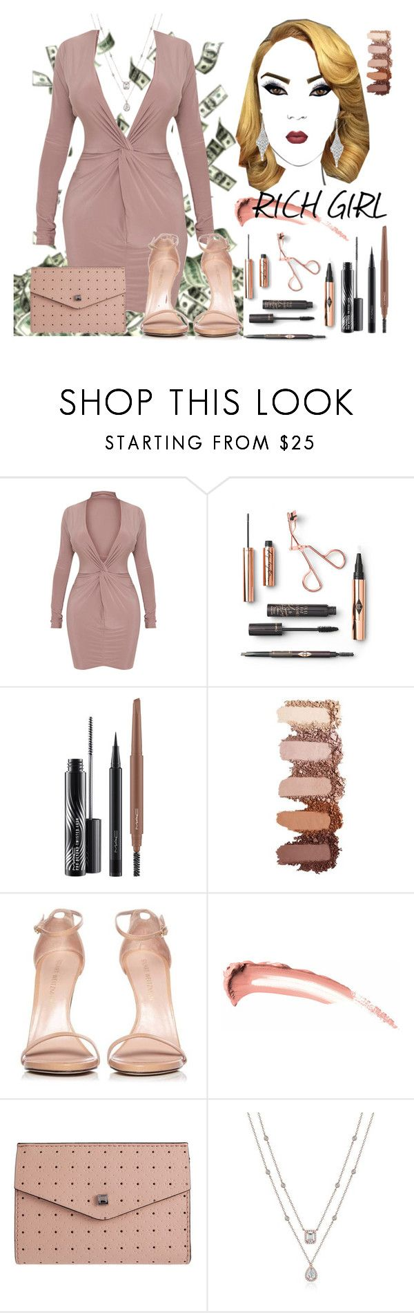 """Gwen Stefani- Rich Girl"" by texasradiance ❤ liked on Polyvore featuring MAC Cosmetics, Stuart Weitzman, Lodis and Allurez"